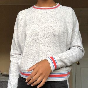 Forever21 Striped Sweatshirt